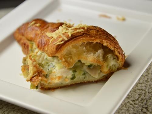 Croissants marins au fenouil, croissant, fenouil