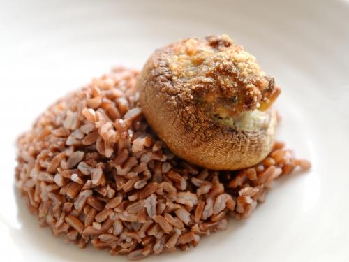 Champignons farcis au fromage grec, la cocotte, la voix du nord