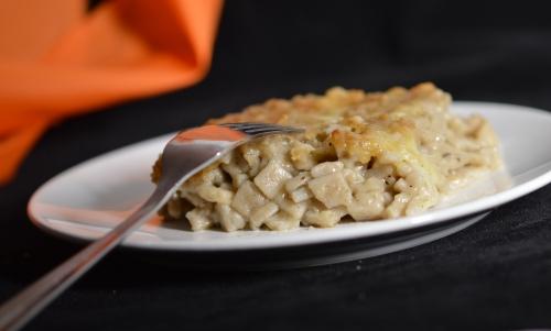 Crozets en sauce blanche, crozets de Savoie