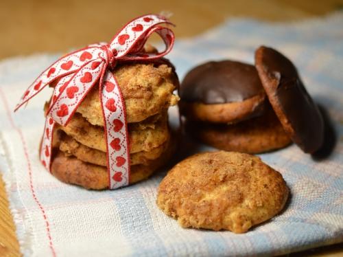 Biscuits de Noël à l'orange, oranges confites, cannelle, cacahuètes