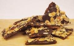 chocolat, amandes, noisettes, croquants