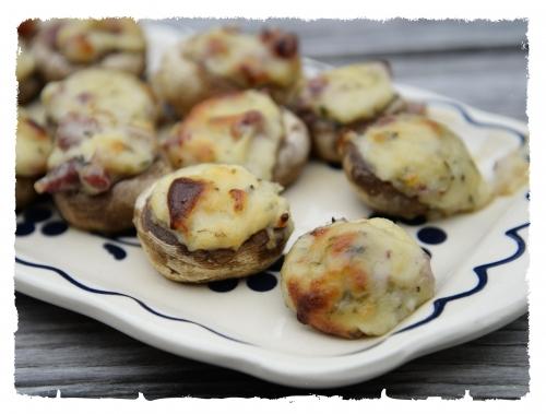 Bouchées de champignons au parmesan, la cocotte, la voix du nord