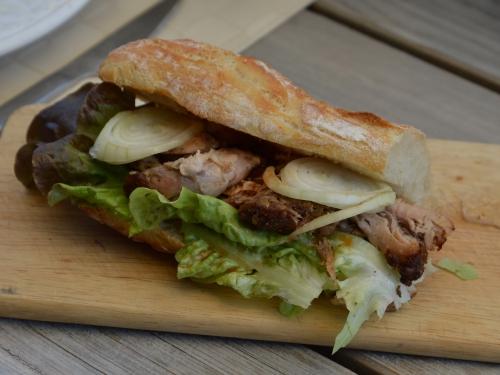 Cochon sandwich, rouelle de porc