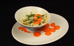 soupe, carottes, coriandre