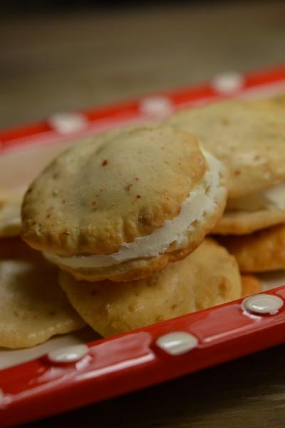 Biscuits aux 2 fromages, fromage à la faisselle, parmesan