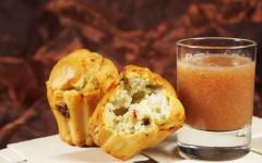 Minicakes au roquefort et coulis de poires.jpg