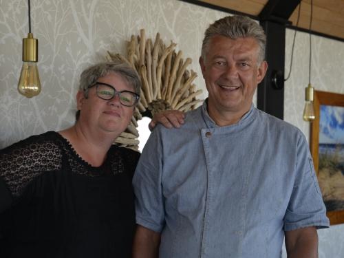 Huîtres gratinées chorizo et piment d'Espelette de Bertrand Lefebvre, chef du Côte d'argent à Calais, le chef et la cocotte, Bertrand Lefebvre, le côte d'argent, Calais