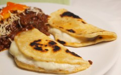 quesadillas, mozzarella, tortillas