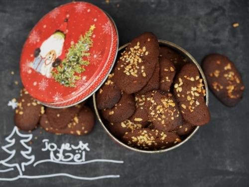 Bredele au chocolat, la cocotte, la voix du nord, biscuits de Noël, épices, chocolat