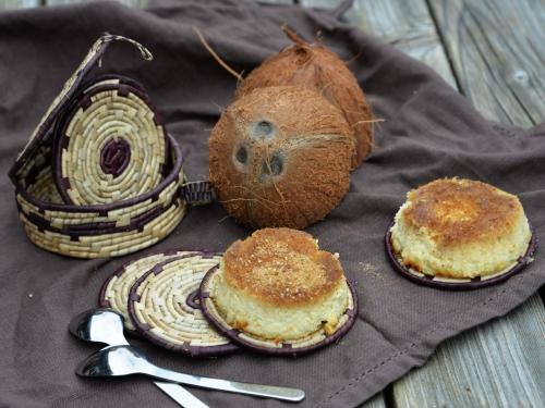 Flan coco au gingembre, la cocotte, la voix du nord