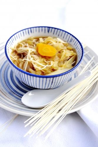 Chou soupe carotte et soja, la Cocotte, la voix du nord