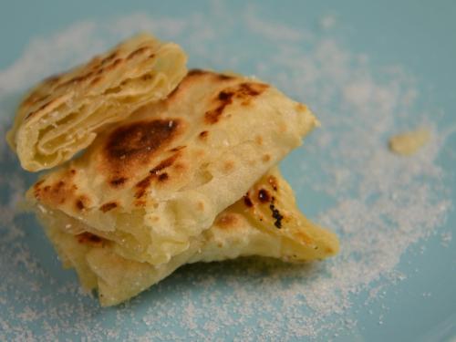 Crêpe algérienne au sucre