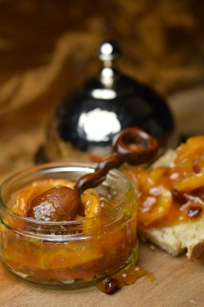 Marmelade d'agrumes, ornages, citrons, La Cocotte