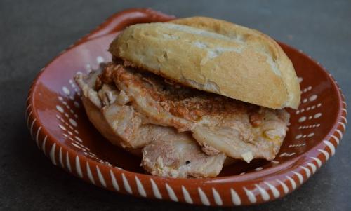 Bifanas de porc, bifanas, tranches de rôti, rôti de porc, Portugal, la Cocotte