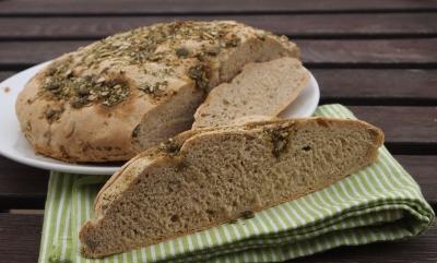 pain pépin, huile de pépins de courge, pépins de courge, pain