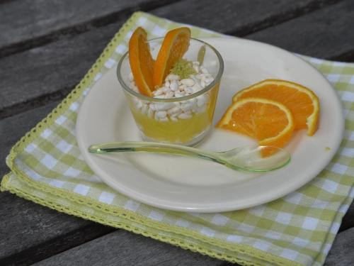 Lemon curd vert au riz soufflé, citron vert, riz soufflé, la Cocotte, la Voix du Nord