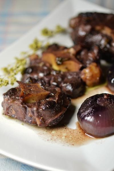 queue de bœuf à la toscane,queue de boeuf,montepulciano,toscane