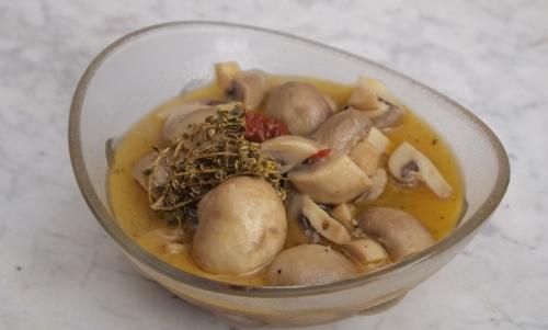 champignons grecs, champignons
