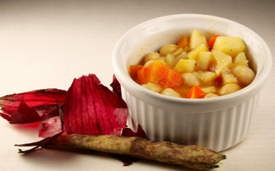 soupe coco, haricots coco