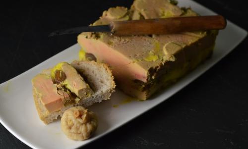 Foie gras aux dattes, foie gras, dattes, La Cocotte