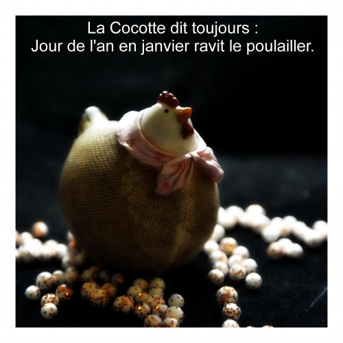 La Cocotte, Jour de l'an