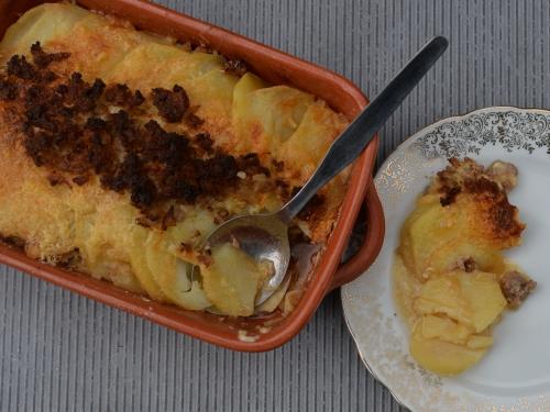 gratin de pommes de terre à la sauge,la cocotte,la voix du nord