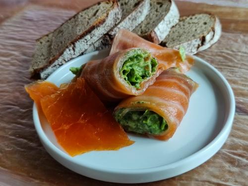 saumon à la crème de batavia,la cocotte,la voix du nord