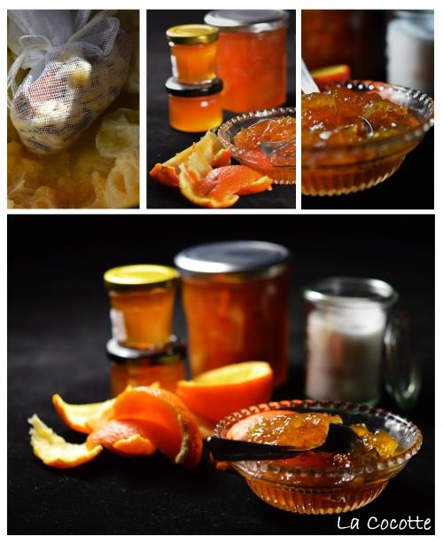 Marmelade d'oranges amères, oranges amères, citrons