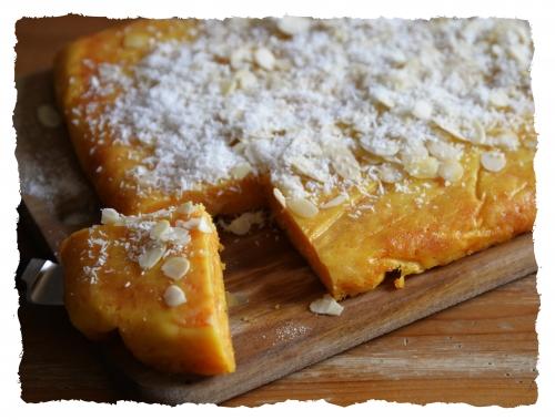 Gâteau de semoule à la carotte, semoule, carotte, noix de coco, la Cocotte, la voix du nord