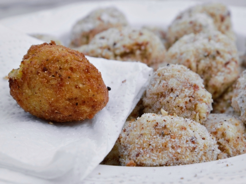 Crabe croquettes au pastis, croquettes, crabe, pastis