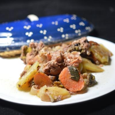 Baeckeofe porc et bœuf