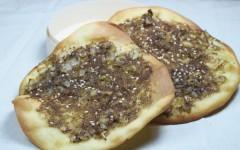 manakiche, pizza libanaise, thym libanais, zaatar