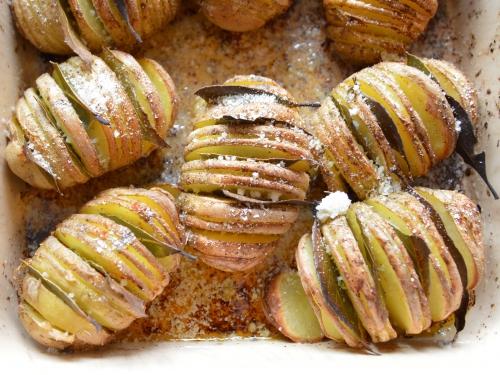Hasselback-Marrakech patates