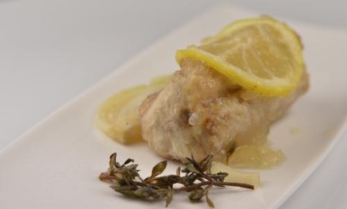 Saumonette en escavêche, saumonette, escavêche, Chimay