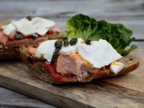 Sandwich chaud au saumon, la Cocotte, la voix du nord