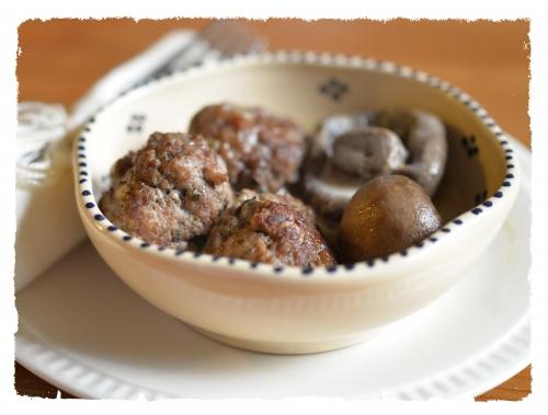 Mini-boulets aux champignons, la cocotte, la voix du nord