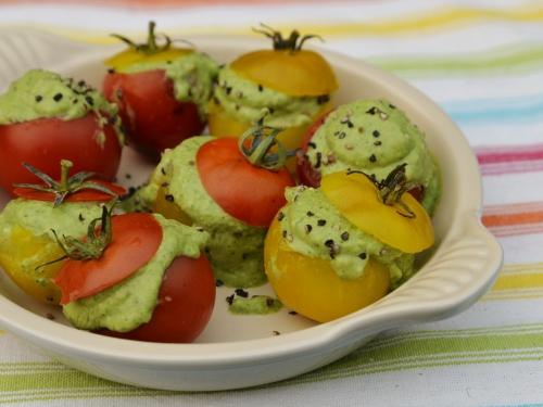 Tomates-cerises au confit de roquette, tomates-cerises, roquette, la Cocotte, la voix du nord