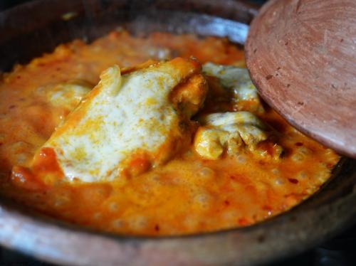 Poulet tomate-mozza, poulet, tomates pelées, mozzarella