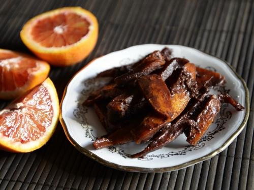 Oranges confites au chocolat, oranges, chocolat, la Cocotte, la Voix du Nord