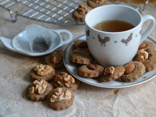 Biscuits Tounut et Noglu, biscuits sans gluten, sans gluten, farine de châtaigne, crème de marrons