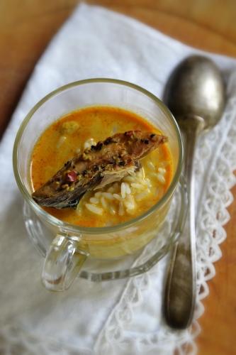 Soupe curry de riz et lait de coco, la cocotte, la voix du nord