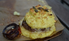 patates hamburgers, hamburger, pommes de terre, Je crée mes cadaux gourmands, éditions Terre Vivante
