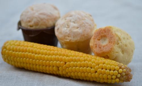 Petits pains au maïs, pain, maïs