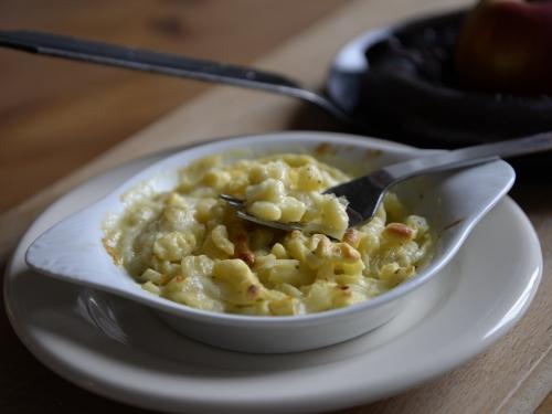 Spätzles-maison au fromage et oignons, spätzles, la Cocotte, la Voix du Nord