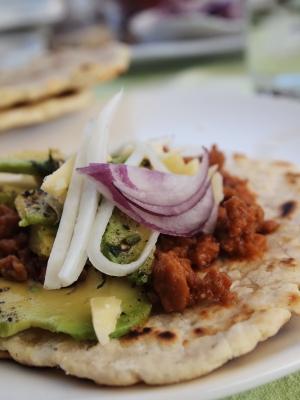 Cerdo Mexicano, tortilla, tortillas, Samia Kachkachi, Les fenêtres qui parlent