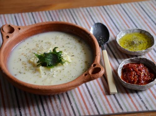 Soupe au tahineh, la cocotte, la voix du nord
