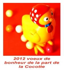 voeux 2012,la cocotte,bonne année, soupe de marrons
