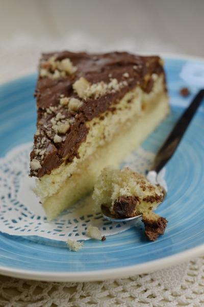 Gâteau poires-choco, gâteau, poires, chocolat, La Cocotte
