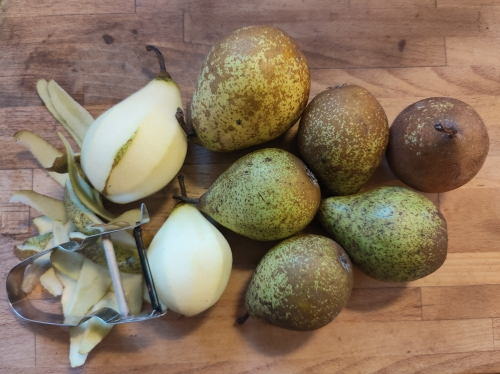crumble pommes-poires,la cocotte,la voix du nord