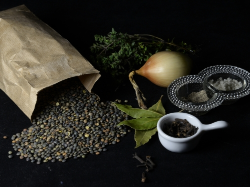 Rouelle aux lentilles cuisson lente, lentilles vertes, rouelle fumée, La Cocotte, la Voix du Nord